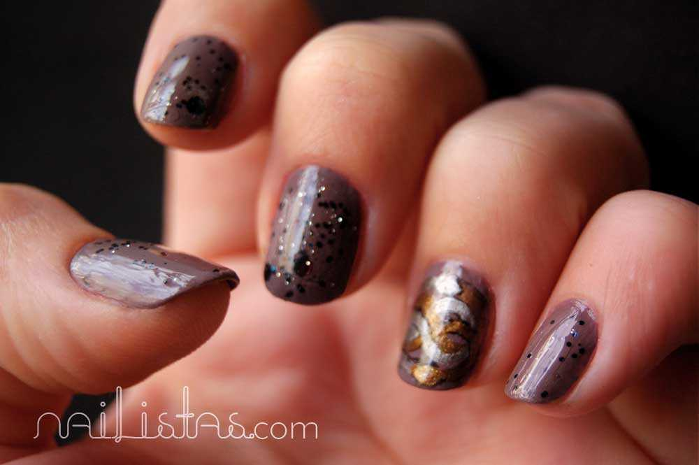 Nailistas the neverending story manicure // La historia interminable // Auryn manicura de fantasía