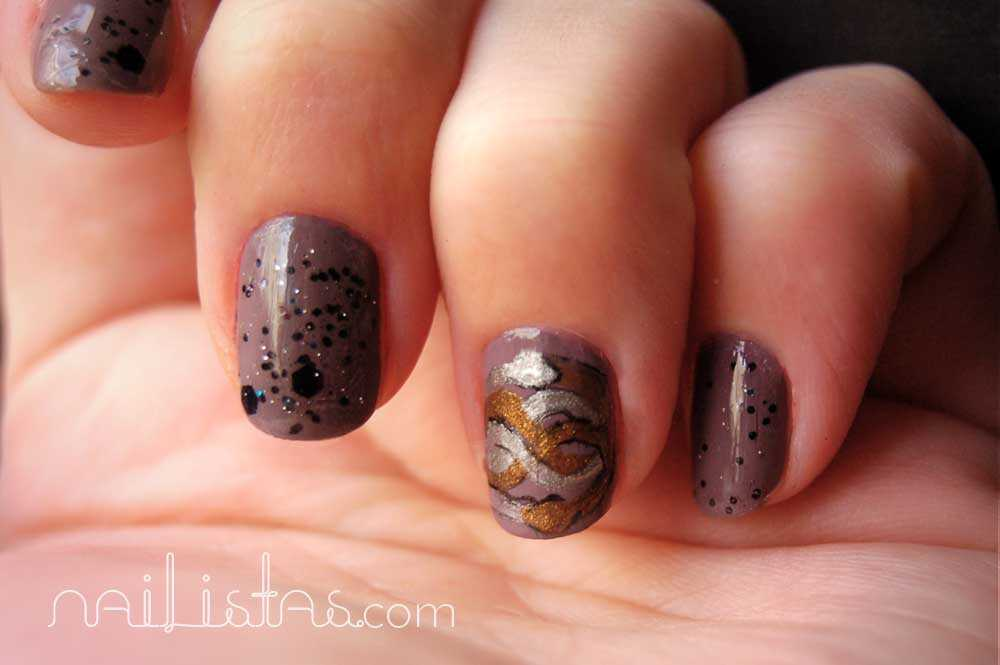 Nailistas the neverending story manicure // La historia interminable // Auryn manicura