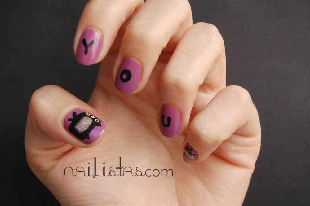 Uñas con televisiones // TV nails // Youfest