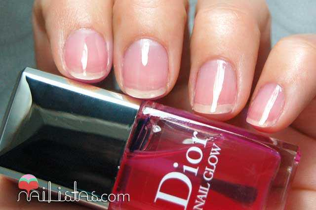 Dior Nail Glow Cherie Bow Spring 2013 Swatch