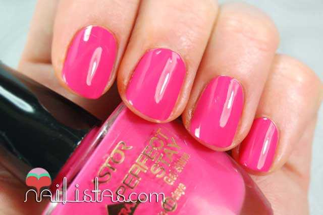 Swatch Pink with envy  Perfect Stay Gel Shine Astor