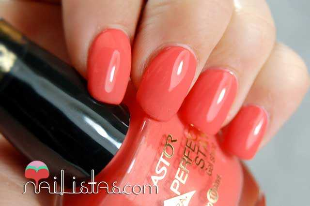 Swatch Creamy Coral Perfect Stay Gel Shine Astor