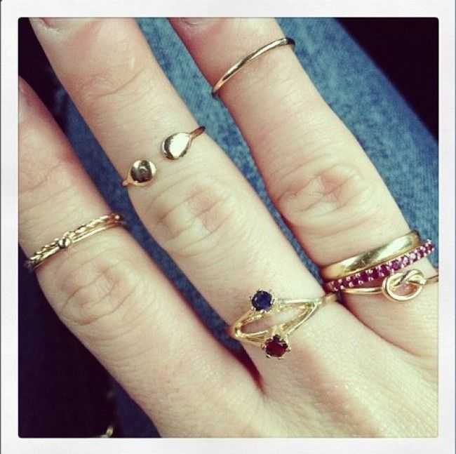 Nailistas | Tendencias Anillo de falange o Knuckle Ring