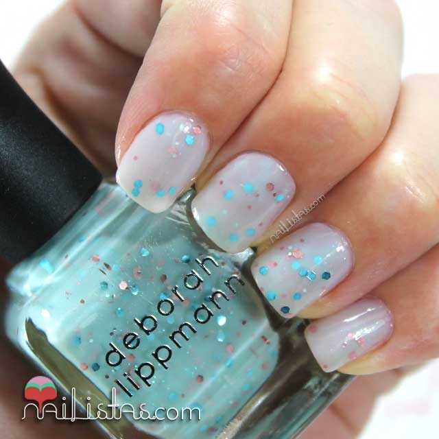 Swatch de Glitter in the Air by Deborah Lippmann