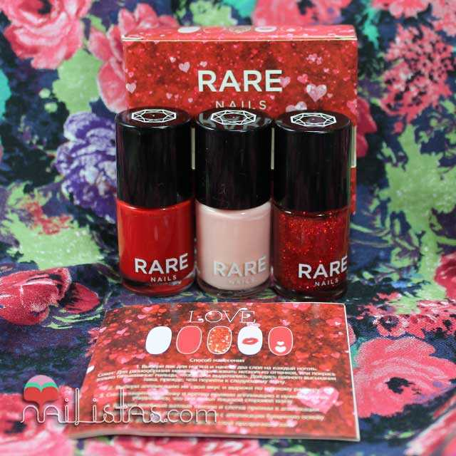Nail Art Kit de Rare Nails Low Cost