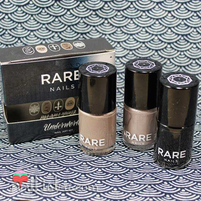 Rare Nails | Underworld nail art kit