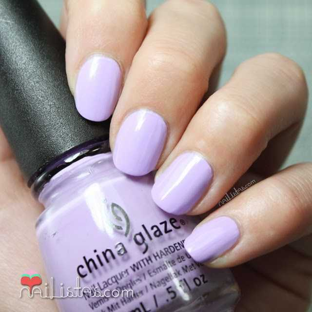 Swatch de Lotus Beguin de China Glaze