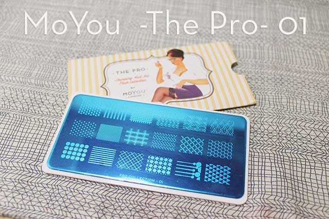 Stamping nail art | MoYou The Pro Collection 01