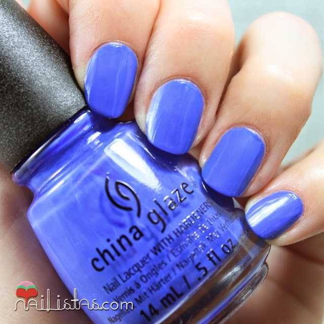China Glaze I Sea The Point swatch verano 2014