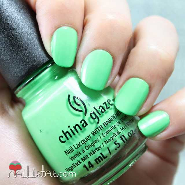 China Glaze Shore Enuff swatch verano 2014