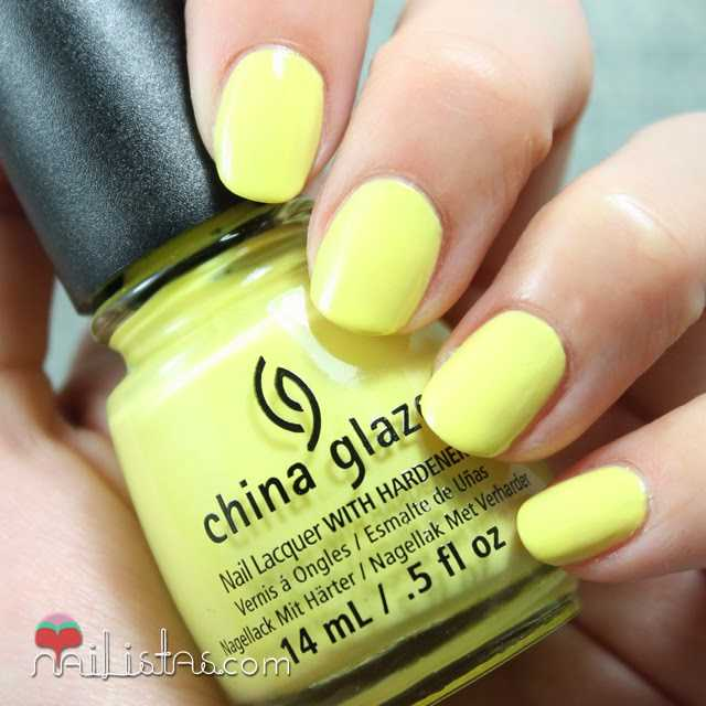 China Glaze Sun Upon my Skin swatch verano 2014