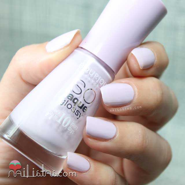Swatch de Peace and Mauve de Bourjois