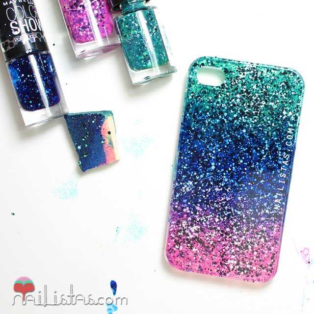 Fundas de movil diy nailistas u as decoradas paso a paso - Como decorar una funda de movil ...