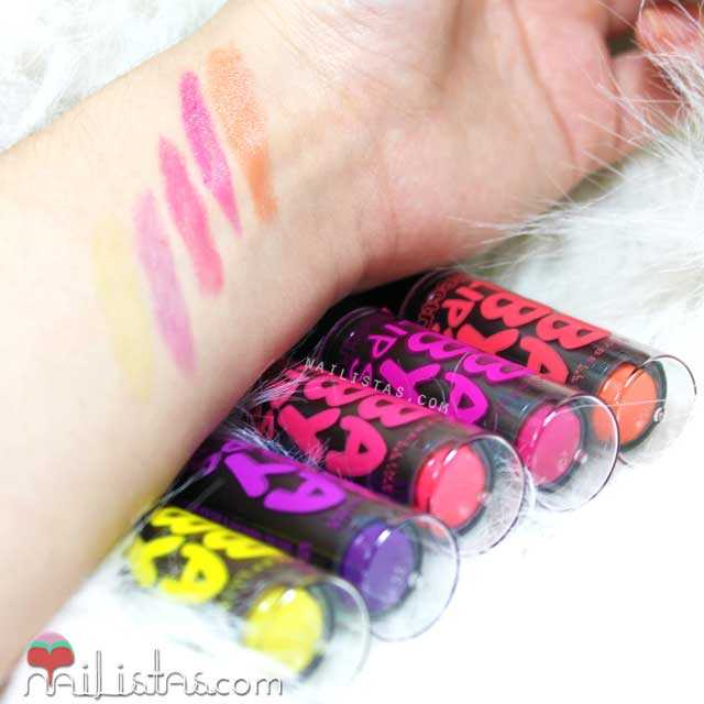 Baby Lips Electro Swatches