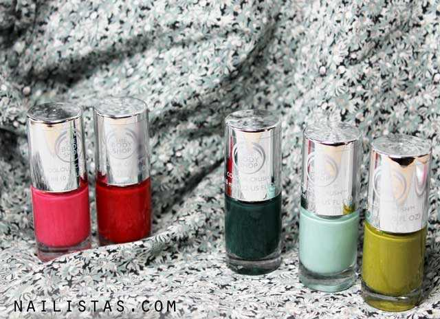 esmaltes-de-uñas-the-body-shop-colour-crush-swatches