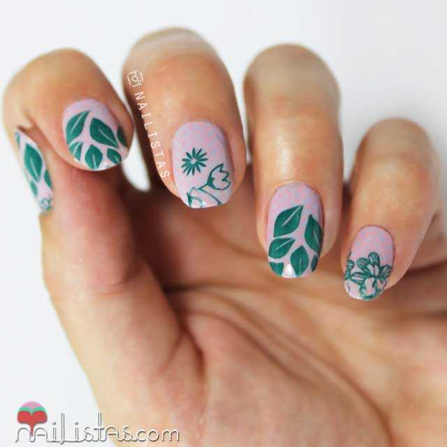 Stamping nail art Moyou London