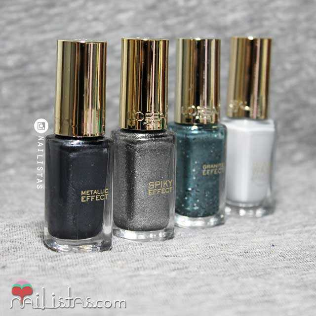 Dark Sides of Greay Nail Polish Las Oscuras Sombras de Grey