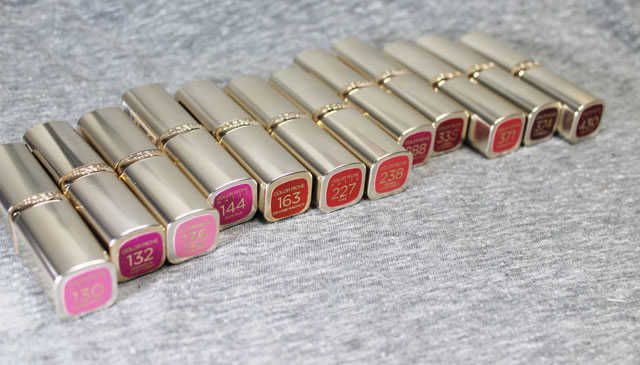 labiales color Riche Loreal  opinion y swatches