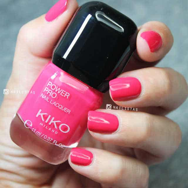 KIKO Power Pro Nail Lacquer opinión y swatches