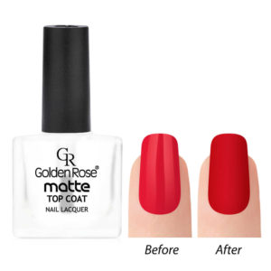 Golden Rose Matte Top Coat Mate