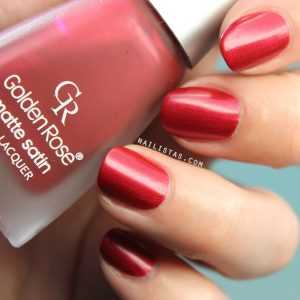 Matte Satin Lacquer 201 Golden Rose