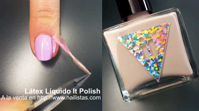 Latex para uñas y nail art máscara protectoira mess no more liquid palisade