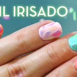 Uñas de Cristal Roto |Broken Glass Nails