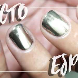 UÑAS EFECTO ESPEJO (NO GEL) | Polvos Mirror Powder Review