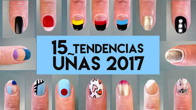 15 tendencias decoracion de uñas 2017