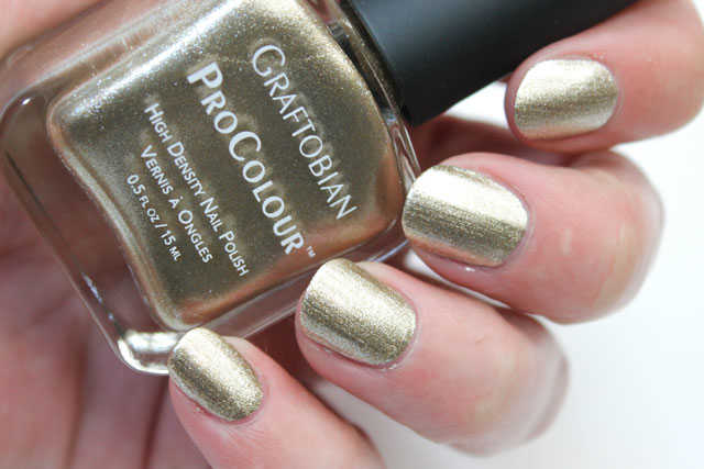 liquid gold graftobian swatch