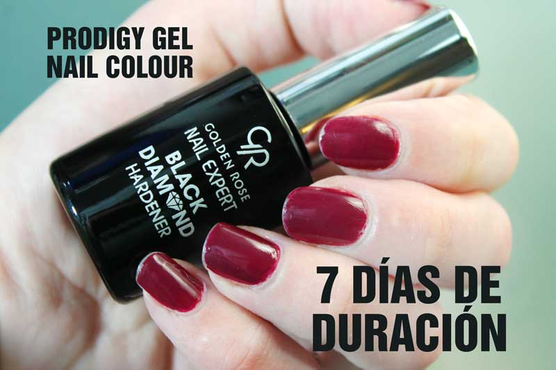 Prodigy Gel Nail Colour Golden Rose