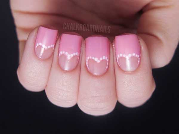 Manicura de Novia // Wedding Bridal nails // Bridal manicure