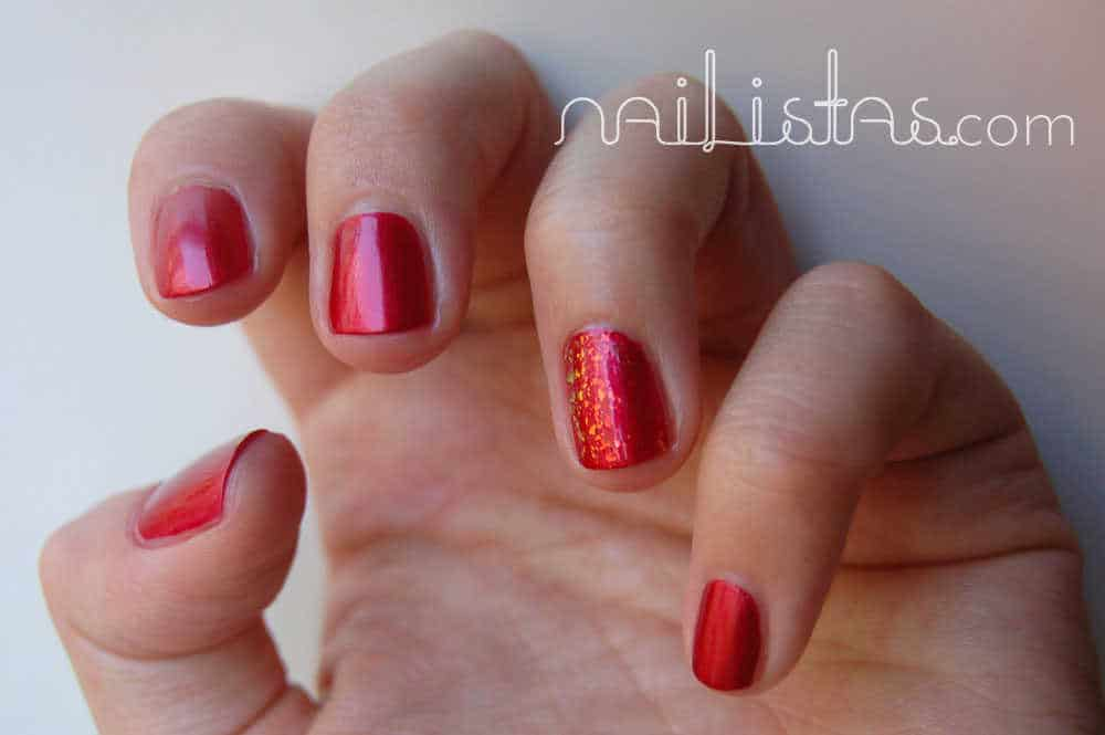 esmalte OPI An affair in red square