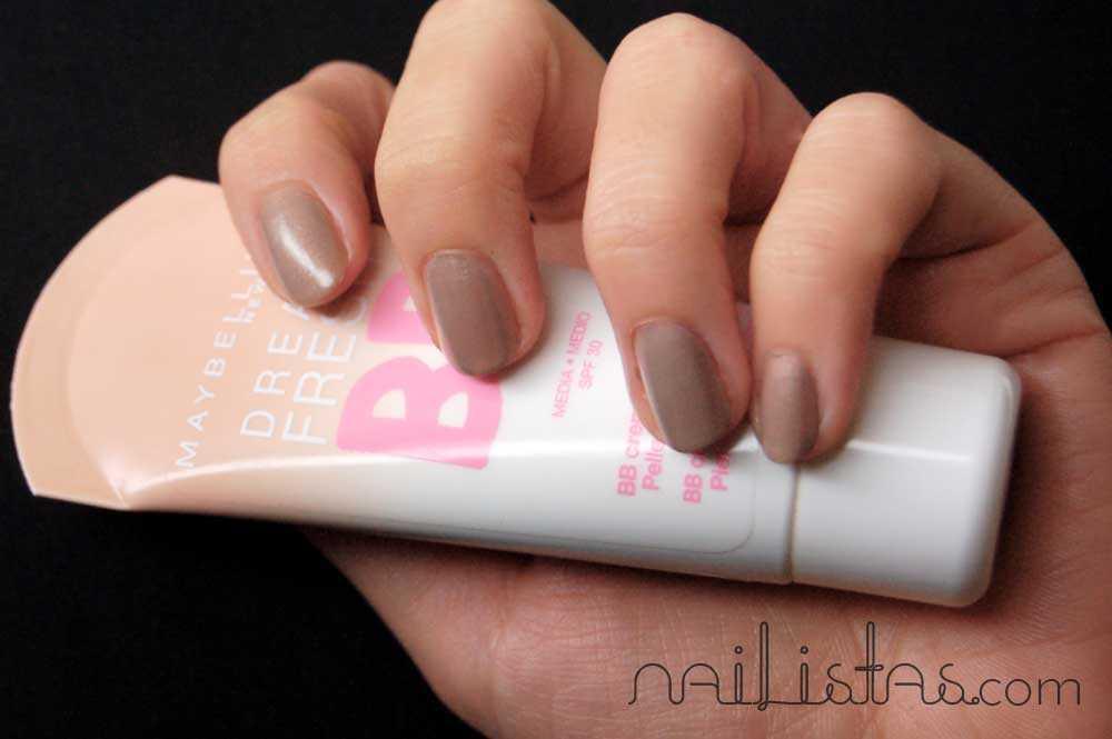 BB Cream Dream Fresh Maybelline New York // Essence Nude Glam >>> Cafe Ole // El mejor nude!
