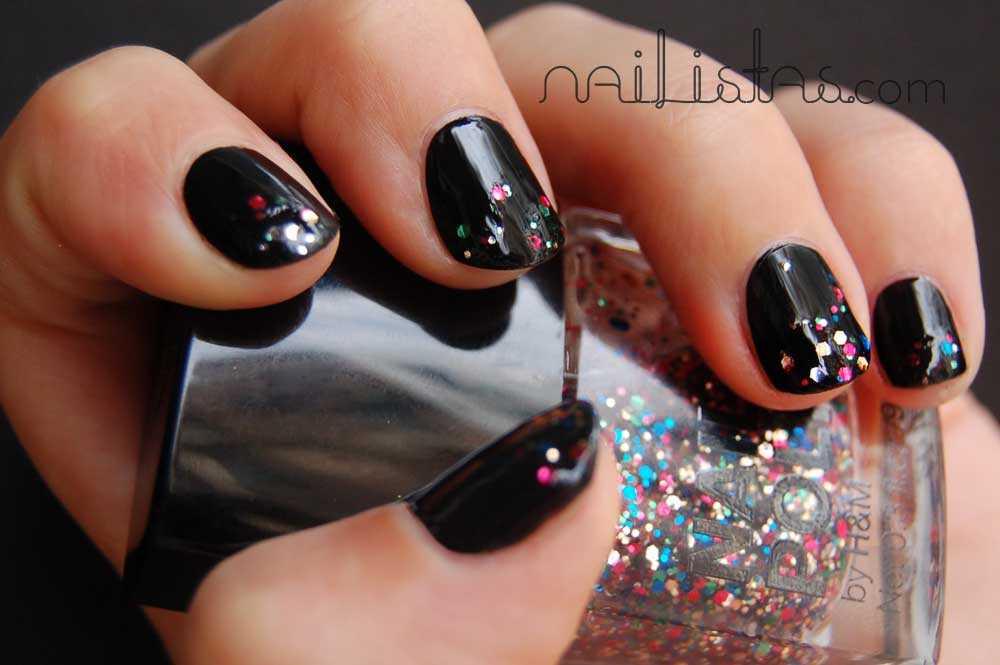 Rock Star  Negro & Glitter