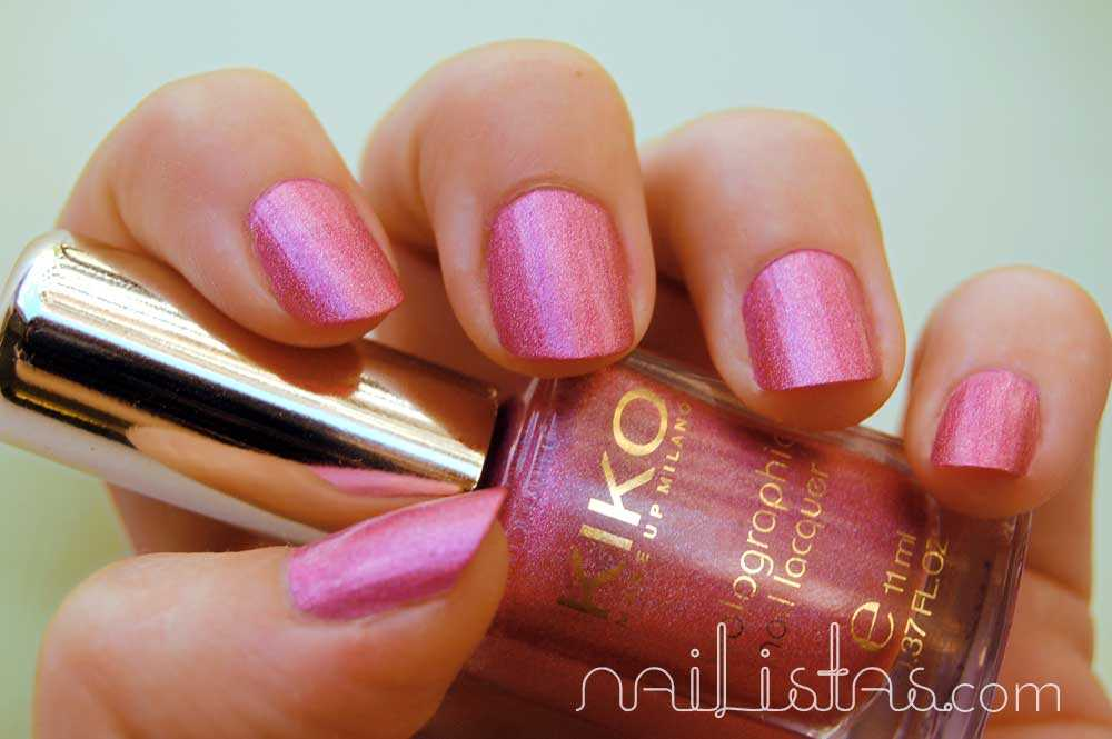 Kiko Makeup Holográfico >>> 406 Jewel Pink
