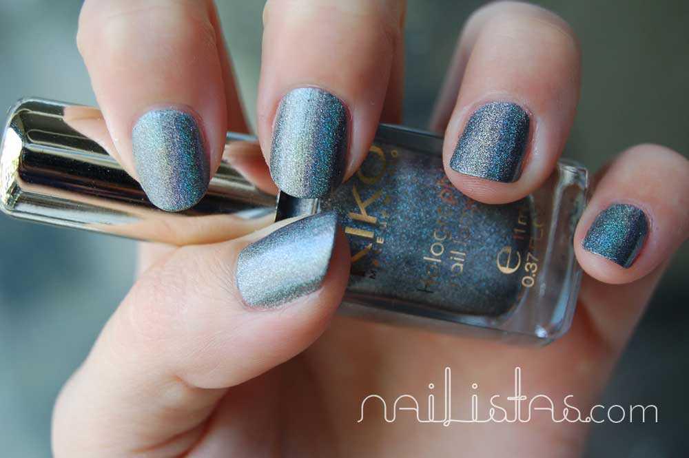 Kiko Makeup Holográfico >>> 400 Steel Grey