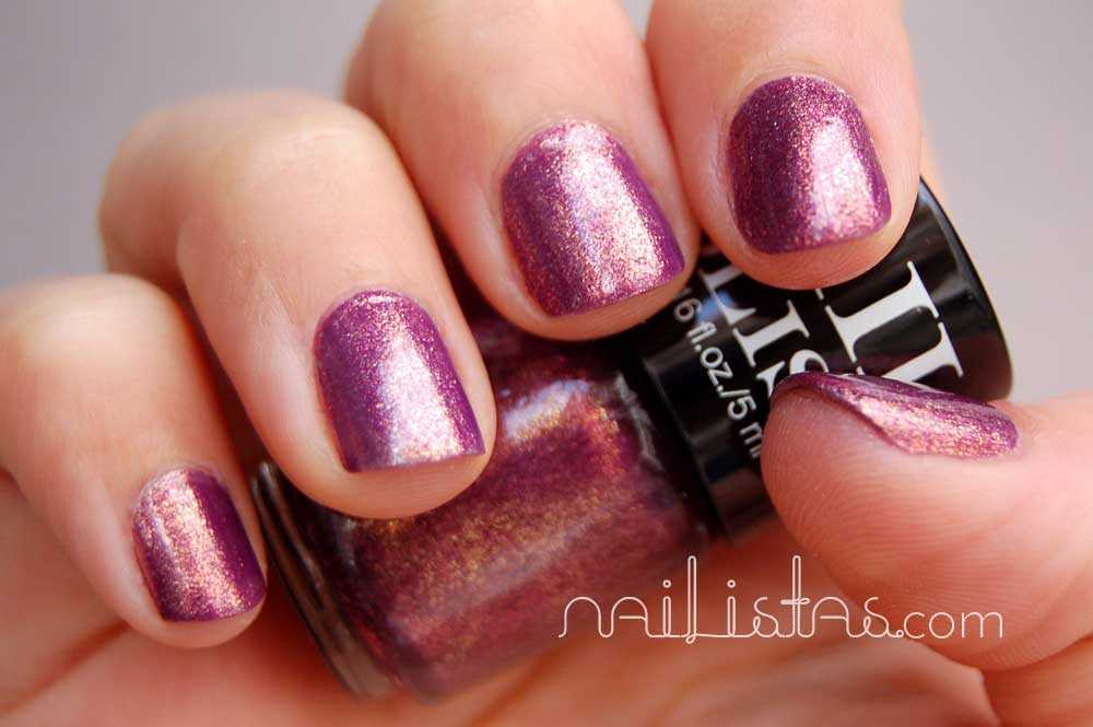 Swatch Purple Glitter H&M