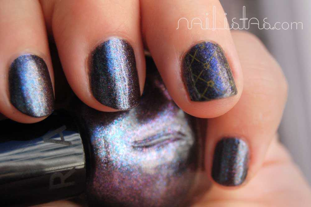Sephora L70 It's time to rock! - Gris grafito con reflejos multicolores.