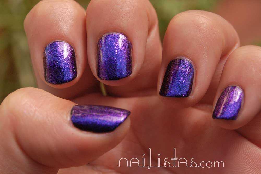 Swach American Apparel  Violet Panache  Metallic Multichrome