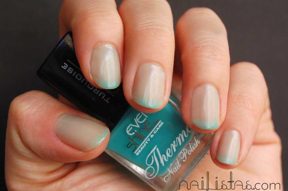 EverShine esmalte de uñas que cambia de color según la temperatura