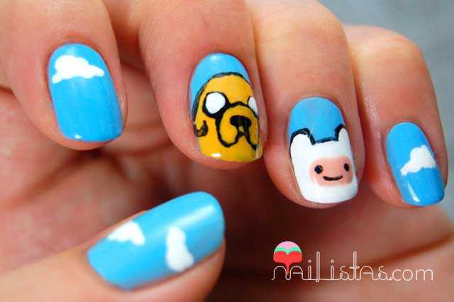 Imágenes de Hora de Aventuras / nail art