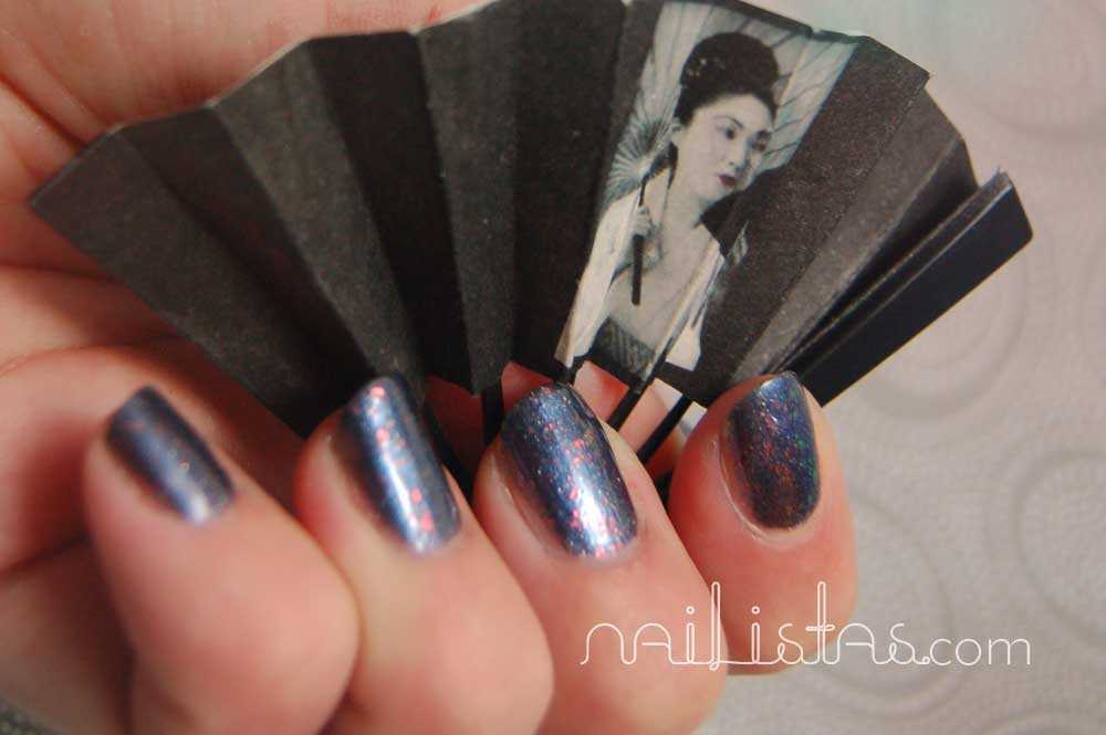 KOH Colours! >>> Blue Universe Nail Polish > Swatch