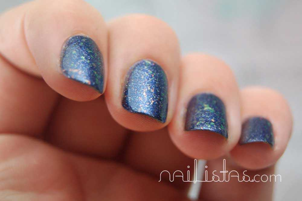 KOH Colours! Cosmetics >>> Blue Universe Nail Polish > Swatch