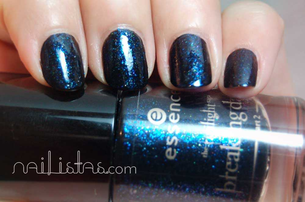 Essence - Twilight - Breaking Down // Crepúsculo - Amanecer Parte 2 // Jacob's protection Swatch