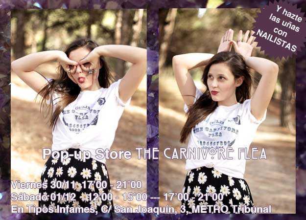 camisetas the carnivore flea madrid