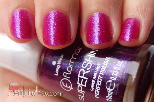 esmalte flormar // swatch // supershine 38