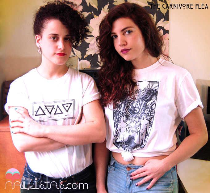 The Carnivore Flea // Camisetas // T-Shirts