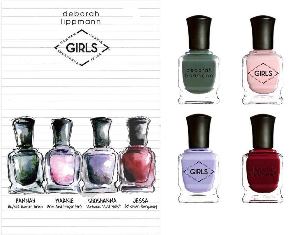 Deborah Lippmann Girls [HBO] limited edition