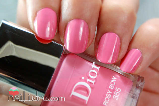 Dior 355 Rosy Bow Swatch